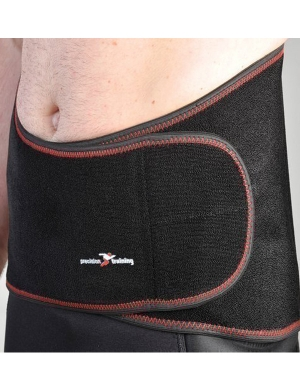 Precision Neoprene Back Support With Stays OSFA